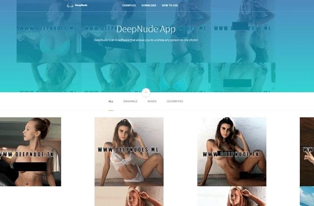 deepnudeアプリ