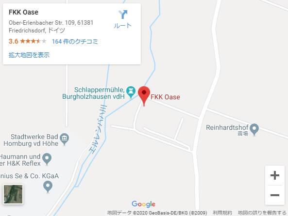 fkk,oase,地図