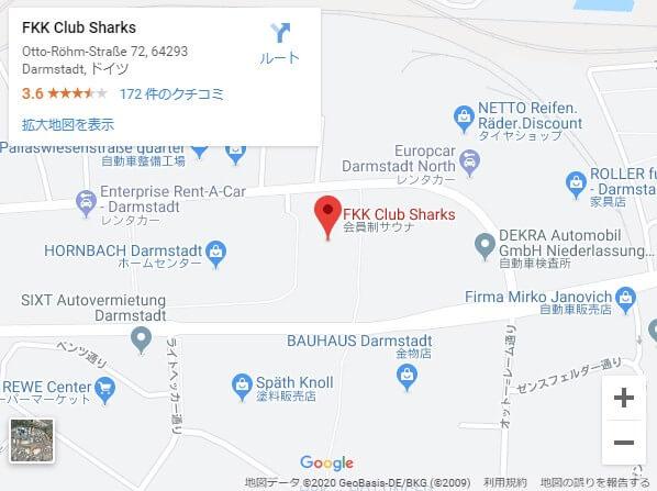 fkk,sharks,地図