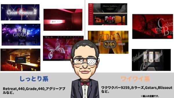 新宿のハプバー表